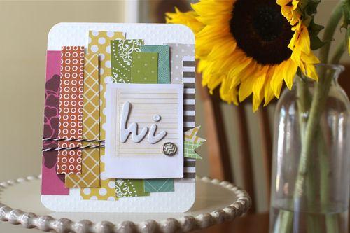 AC Hi Rainbow Card
