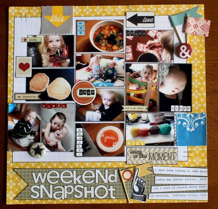 Weekend snapshot
