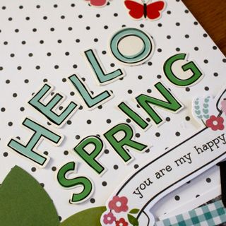 Hello spring close up 1