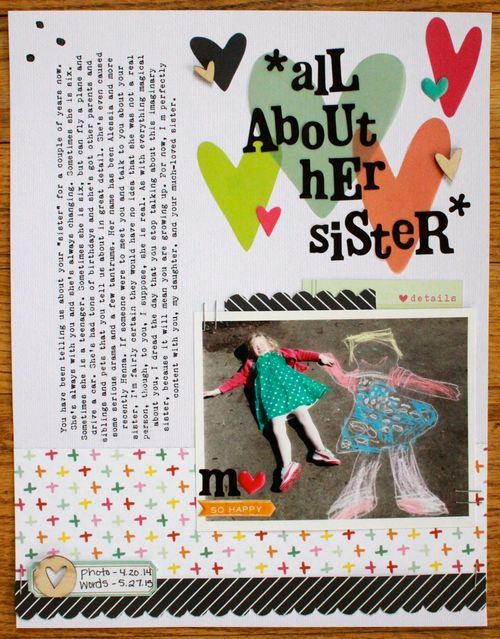 All about her sister_emily spahn